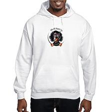 LH Dachshund B/T IAAM Logo Hoodie