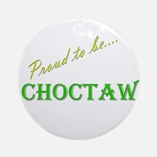 Choctaw Ornament (Round)