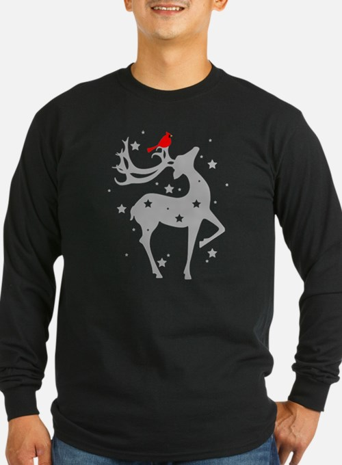 Winter Reindeer Long Sleeve T-Shirt
