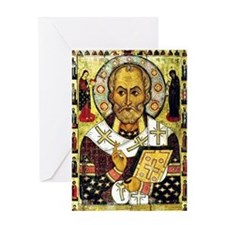 Saint Nicholas, Patron Saint of Chil Greeting Card