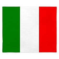 Italy Flag King Duvet