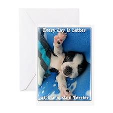 boston-card Greeting Card