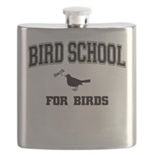 Bird School For Birds Flask
