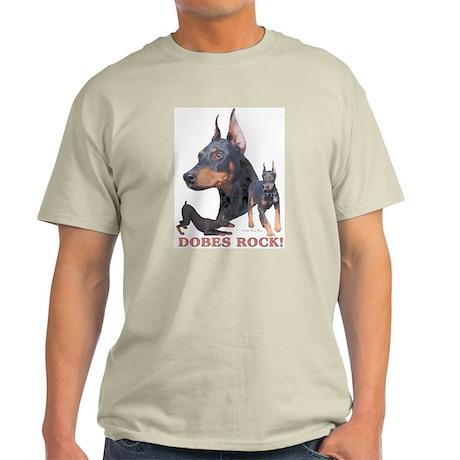Dobes ROCK Ash Grey T-Shirt