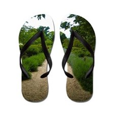 Coe Hall Garden NY Flip Flops