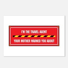 I'm the Agent Postcards (Package of 8)