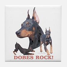 Dobes ROCK Tile Coaster