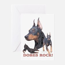 Dobes ROCK Greeting Cards (Pk of 10)