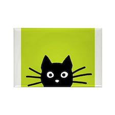 Black Cat Magnets