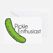 Pickle Enthusiast Greeting Card