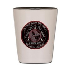 USAF Ghost Squadron Shot Glass