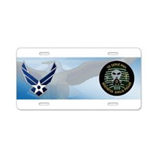 509th Bomb Group Aluminum License Plate