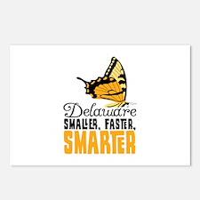 Delaware SMALLER, FASTER, SMARTER Postcards (Packa
