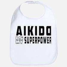 Aikido Is My Superpower Bib