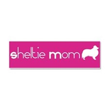 Cute Rescue sheltie Car Magnet 10 x 3