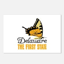 Delaware THE FIRST STATE Postcards (Package of 8)