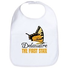 Delaware THE FIRST STATE Bib