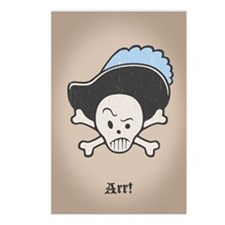 Cap'n Hatfeather Postcards (Package of 8)