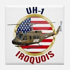 UH-1 Iroquois Tile Coaster
