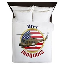UH-1 Iroquois Queen Duvet