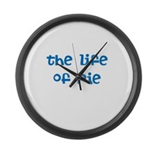 THE LIFE OF PIE Large Wall Clock