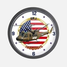 UH-1 Iroquois Wall Clock