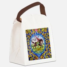 The Persian soldier  Canvas Lunch Bag