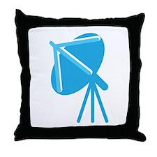Satellite Dish in BlueSatelitte Dish in Blue Throw
