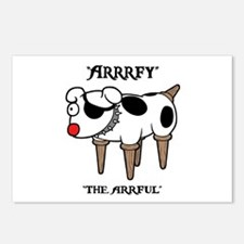 Arrrfy Postcards (Package of 8)