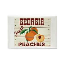GEORGIA Fresh PEACHES Magnets