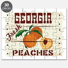 GEORGIA Fresh PEACHES Puzzle