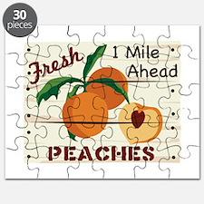 Fresh PEACHES 1 Mile Ahead Puzzle