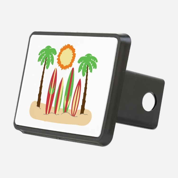 Surf Boards Beach Hitch Cover