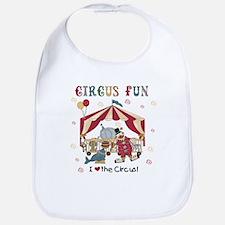 Circus Fun Bib