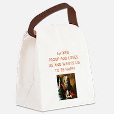 latkes Canvas Lunch Bag