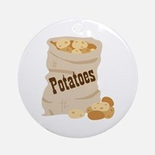Potatoes Ornament (Round)