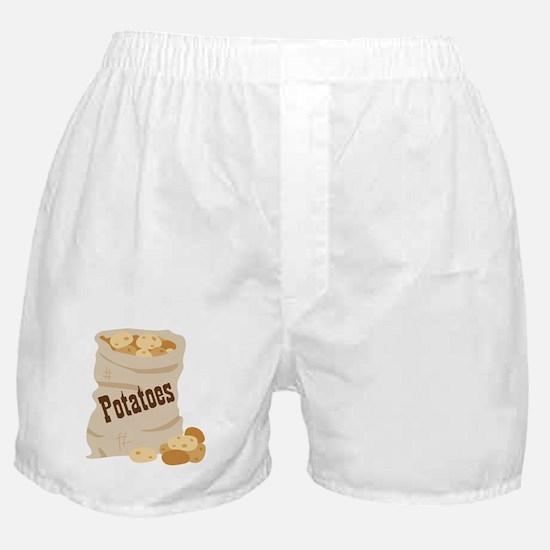 Potatoes Boxer Shorts