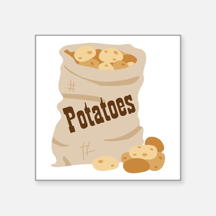 Potatoes Sticker
