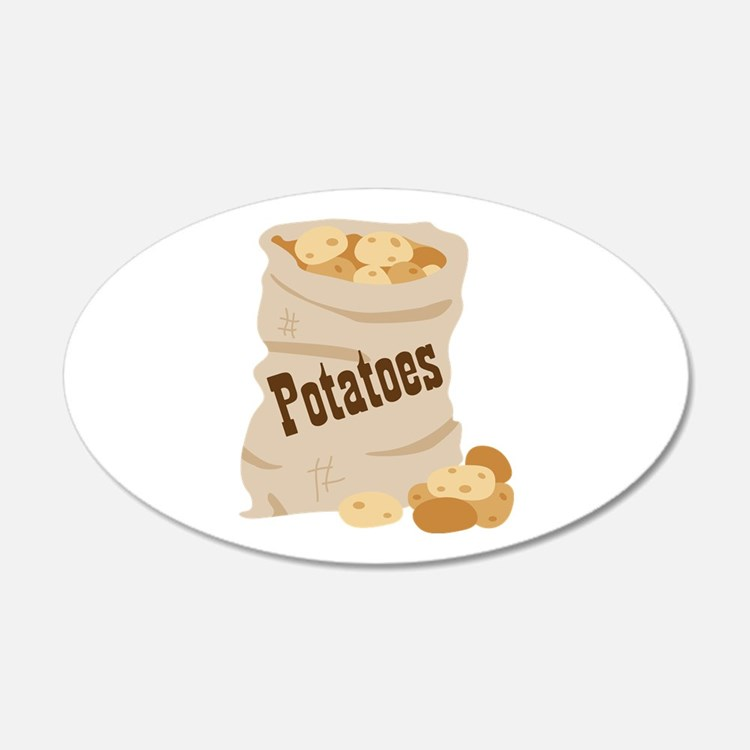 Potatoes Wall Decal