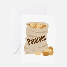 Potatoes Greeting Cards