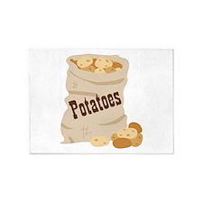 Potatoes 5'x7'Area Rug