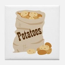 Potatoes Tile Coaster