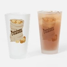 Potatoes Drinking Glass