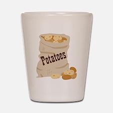 Potatoes Shot Glass