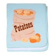 Potatoes baby blanket