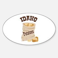 IDAHO Potatoes Decal