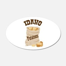 IDAHO Potatoes Wall Decal