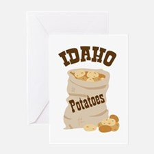 IDAHO Potatoes Greeting Cards
