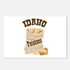IDAHO Potatoes Postcards (Package of 8)