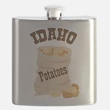 IDAHO Potatoes Flask